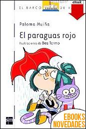 El paraguas rojo de Paloma Muiña Merino