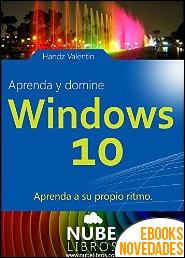 Aprenda y domine Windows 10 de Handz Valentín