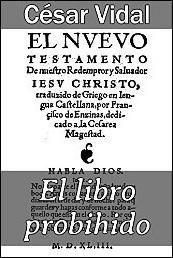 El libro prohibido de César Vidal